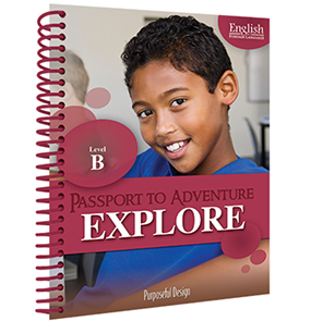 EFL: Passport to Adventure, Explore B, Ages 9–10, Teacher Textbook