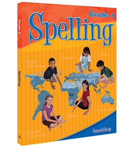 Spelling: Grade 4, Student Textbook E-book (Print format no longer available)