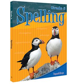 Spelling: Grade 5, Student Textbook E-book (Print format no longer available)